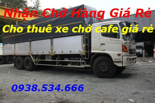 Cho thuê xe chở cafe giá rẻ