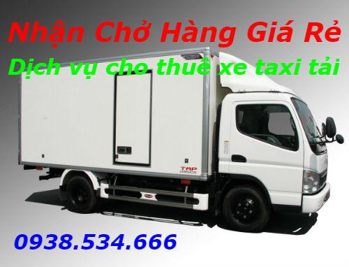 Dịch vụ cho thuê xe taxi tải