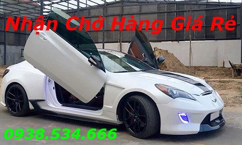 Hyundai Genesis coupe độ cửa cắt kéo của thợ Việt Nam