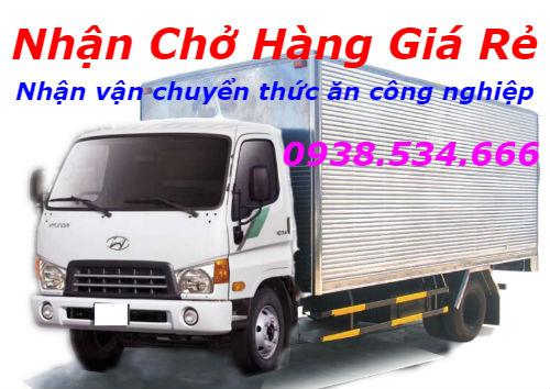 Nhận vận chuyển thức ăn công nghiệp