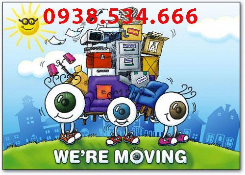 Cho thuê xe tải chuyển văn phòng quận Gò Vấp - 0938.534.666