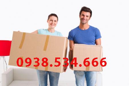 Cho thuê xe tải chuyển văn phòng tại Nhà Bè - 0938.534.666