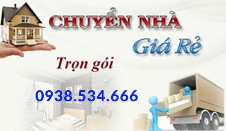 Dịch vụ chuyển nhà trọn gói tphcm - 0938.534.666