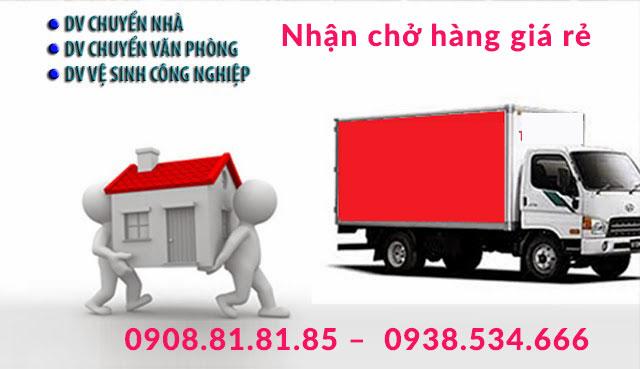 Nhận chở hàng tại Lào Cai