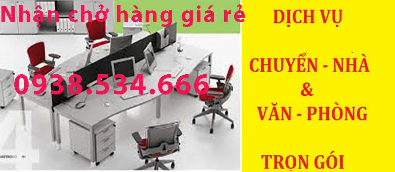 Chuyển Văn Phòng Giá Rẻ tại TPHCM - 0938.534.6666