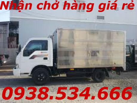 Dịch vụ xe tải chở hàng quận Bình Tân