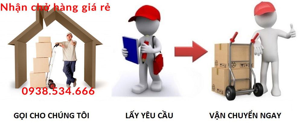 Nhận chở hàng tại Tuyên Quang