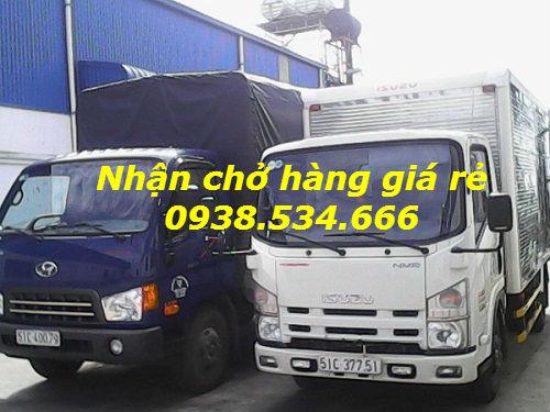 Nhận chở hàng giá rẻ