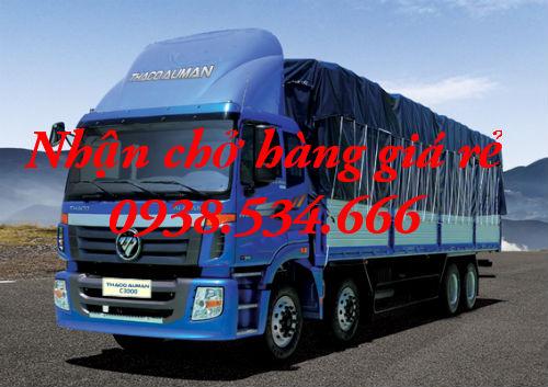 Cho thuê xe tải chở hàng giá rẻ